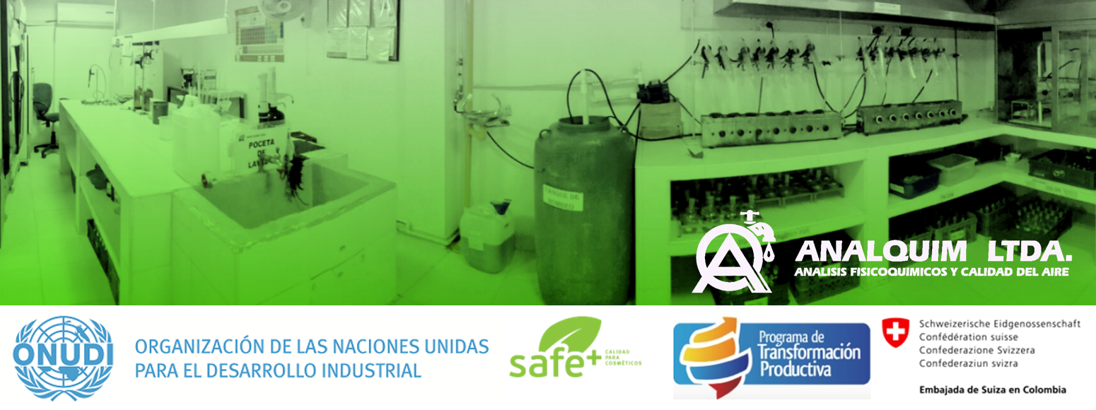 Proyecto ONUDI: Cuantificación de fósforo y biodegradabilidad en productos detergentes y jabones